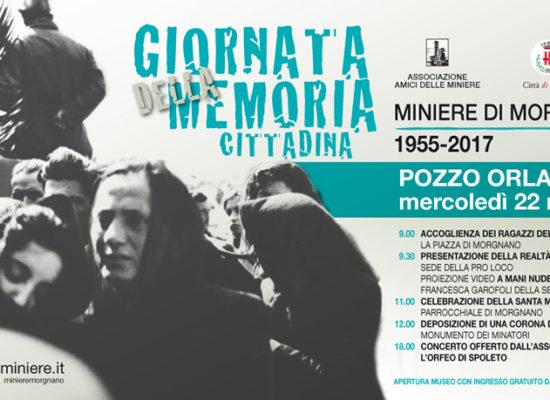 Giornata della Memoria - 22 marzo 2017 associazione amici delle miniere di morgnano spoleto umbria italy